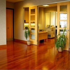 How to clean laminate floors appropriately.
