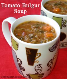 Tomato Bulgur Soup Recipe