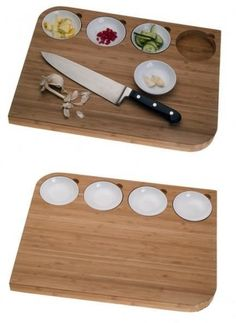 Chopping Block Organizer