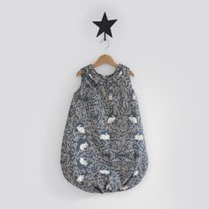 Doll Clothes-Flannel Sleeping Bag-Fairy Print