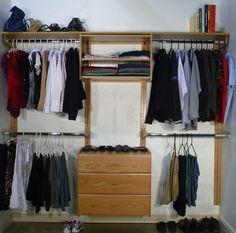 Diy Closet Organizer Ideas With White Walls