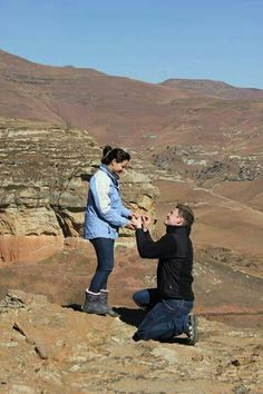 My romantic son proposing on top of Golden Gate mountain Golden Gate, Dream Big, Proposal, Grand Canyon, Sons, Mountain, Romantic, Engagement, Couple Photos