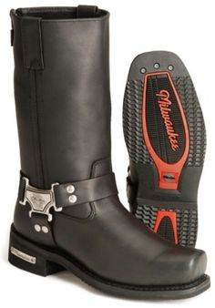 Milwaukee Harness Motorcycle Boots - Sheplers