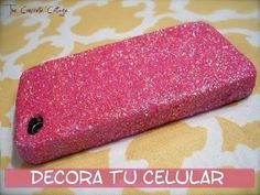 HAZ PEGAMENTO CON DIAMANTINA (purpurina) - DIY - Glitter Glue / Valcrafting - YouTube