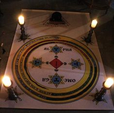 Lesser Key of Solomon Goetic Evocation Summoning Circle and Triangle / Ars Goetia Magick Occult Ritual Mat Demon Thelema Aleister Crowley Occult Symbols, Occult Art, Summoning Circle, Dark Spirit, Occult Books, Aleister Crowley, Witch Aesthetic, Catholic Art, Altars