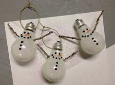 Deck Your Trees With These Incredibly Creative DIY Christmas Ornaments 0 - https://www.facebook.com/diplyofficial