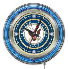 Use this Exclusive coupon code: PINFIVE to receive an additional 5% off the US Navy Neon Logo Clock at SportsFansPlus.com