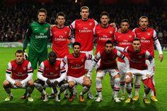 Arsenal team VS Newcastle last season