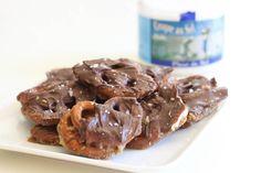Salted Chocolate Caramel Pretzel Bark  on MyRecipeMagic.com