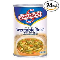 Swanson Vegetarian Vegetable Broth