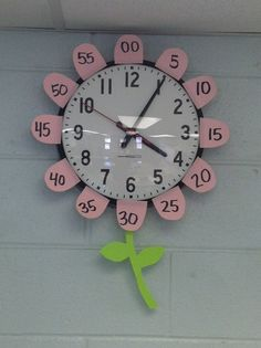 This is the easiest way to add the minutes to your clock. Just round off a few sticky notes and you're done. Still thinking of how to add to the theme and show quarter hours. I'm thinking leaves...