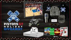 Enter This Pistons GT Holiday Giveaway! Win A BenQ Monitor, Xbox One S, SCUF Controller, GUNNAR Optiks, And More!