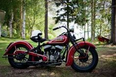 1936 Indian Chief motorcycle