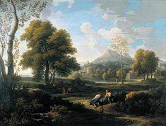 BLOEMEN, Jan Frans van Flemish painter (b. 1662, Antwerpen, d. 1749, Roma) classical Landscape