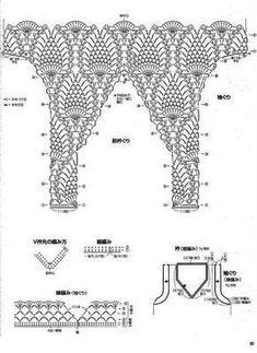 Diy Crafts - Fabulous Crochet a Little Black Crochet Dress Ideas. Georgeous Crochet a Little Black Crochet Dress Ideas. T-shirt Au Crochet, Crochet Patron, Mode Crochet, Crochet Tunic, Crochet Diagram, Crochet Woman, Crochet Clothes, Crochet Baby, Knitting Patterns