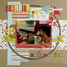 Image result for lisa swift scrapbook layouts