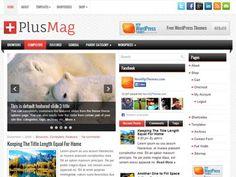 PlusMag WordPress theme