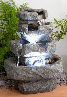 Fuente Cascada de Agua Shubunkin - Luces LED 69.99€