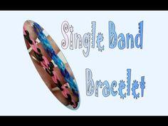 Basic Single Band Rainbow Loom Bracelet