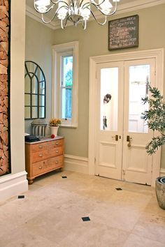Modern Country Style: Gorgeous High Skirting Boards! Click through for details.