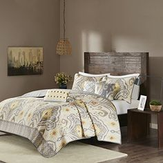 Madison Park Imani 6 Piece Quilted Coverlet Set Yellow Ki... https://www.amazon.com/dp/B01I1ARSXW/ref=cm_sw_r_pi_dp_x_n3MGzbGB4E60Q