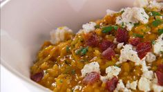 Pumpkin and Goat Cheese Risotto from #GiadaAtHome