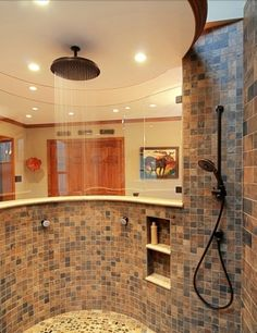 Holy big shower, yes please