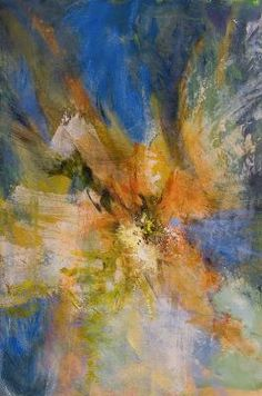 Abstract expressionism - makes me think of flight. <3