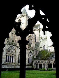 Ancient church window