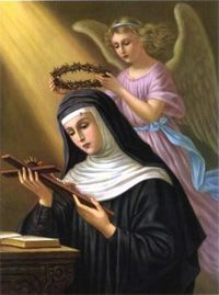 St Rita's Feastday is May 22. Ask her for anything. She's the Saint of the Impossible!