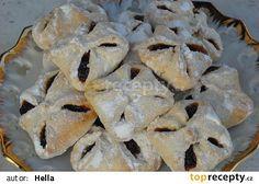 Půlroční koláčky Filled Cookies, Czech Recipes, Star Food, Croatian Recipes, Dried Apricots, Desert Recipes, Quick Easy Meals, Raisin, Food Hacks
