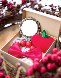Charming Snow White Party favors