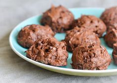Made famous by Ina Pinkney, BLOBBS are mounded cookies/brownies with chocolate, pecans, walnuts, chocolate chips and two kinds of chocolate.