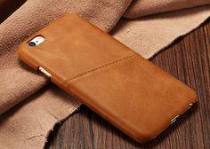 Leather case iphone 6 case / leather case iphone 6 plus case / Iphone 6s leather case / Iphone 6s Plus leather case / Brown Leather by ReverLeather on Etsy