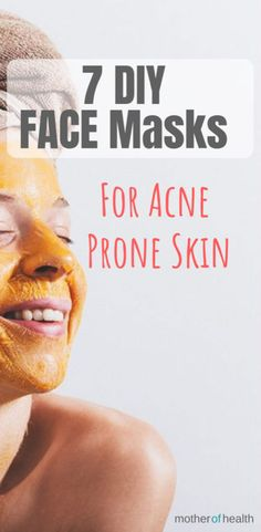 Proven DIY Face Masks For Acne   Mother Of Health