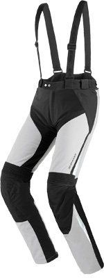 Spidi VTM H2OUT Pants Gray/Black 2X - U61-010-2X by Spidi. $317.79. Tough, resistant waterproof touring/enduro trousers with removable insulating liner, ideal match for a Voyager 2 jacket. VTM fits perfectly thanks to its several racing-derived stretch inserts and aptly placed adjusts, it is equipped with CE hip protectors and CE adjustable knee protectors (Multitech). These trousers feature removable straps and a waistile zipper to become a full-on touring kit fo...