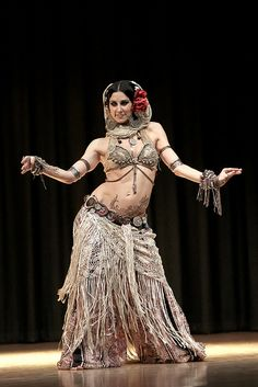 Another great belly dance costume.