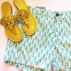 NWT Old Navy Seahorse Shorts So cute and perfect for summer vacation! Brand new with tags. No trades!! 0531640gwpg Old Navy Shorts