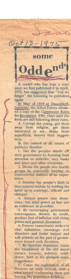 Newspaper article from October, reprinted in Valid today ! Agenda 21 alive and well in the USA and other parts of our world ! Illuminati, Way Of Life, The Life, Real Life, Out Of Touch, New World Order, God Bless America, Before Us, Benjamin Franklin