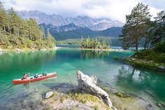 Lake Eibsee, Germany