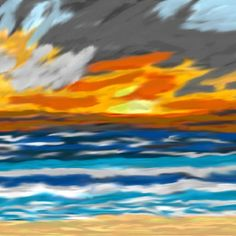 Stormy Sunset  ((2012)) Copyrights by Creative Sketch Design