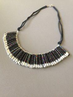 Safety Pin Art, Safety Pin Crafts, Safety Pin Jewelry, Diy Jewelry, Gemstone Jewelry, Beaded Jewelry, Jewelery, Jewelry Accessories, Unique Jewelry