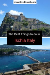 Read about the top things to do on the island of Ischia Italy. It's neighbour Capri is the famous island, but this island is just as beautiful. Amalfi Coast Italy, Sorrento Italy, Naples Italy, Rome Italy, Italy Vacation, Italy Travel, Italy Trip, Travel Tours, Europe Travel Tips
