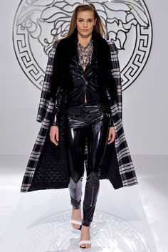 2013 PUNK  fashion | Wear a bold coat on top of black jeans and a tee for instant chicness ...