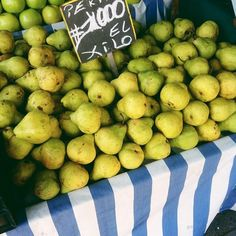 fruit market in santiago chile