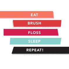 DESPITE HOW EASY it is to maintain a good oral hygiene routine, 30% of adults don't brush their teeth twice a day, and 60% never floss!