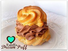 Nutella Dream Puff Cream Puff!