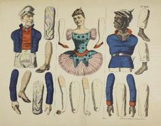 Articulated Paper Dolls - (Also  see Nancy Kelly's other paper doll boards on Pinterest!)s