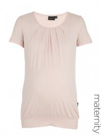 Pleat Top Pale Pink