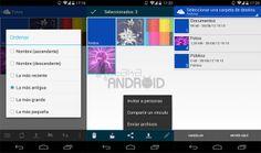 Microsoft OneDrive 2.5 para Android: mover, ordenar, compartir archivos invitando a personas y más http://www.xatakandroid.com/p/109240